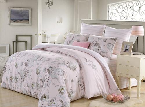 Постельное белье Kazanova Форбури (розовый) 2-спальный