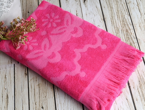 Пляжное полотенце 75х150 Irya Daisy Fuchsia