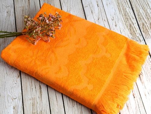 Пляжное полотенце 75х150 Irya Daisy Oranj
