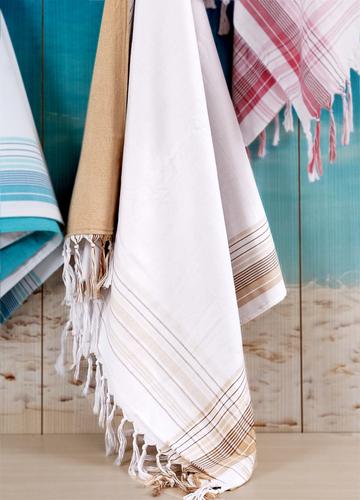 Пляжное полотенце 100х180 Irya Damla Bej