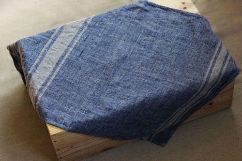 Льняное полотенце Dark spirit 50х70 см