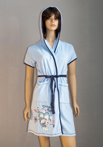 Женский халат VS Dragon Blue