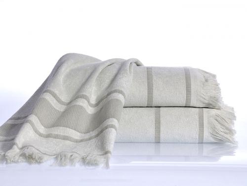 Пляжное полотенце 50х80 Irya Duru Buz Beyaz