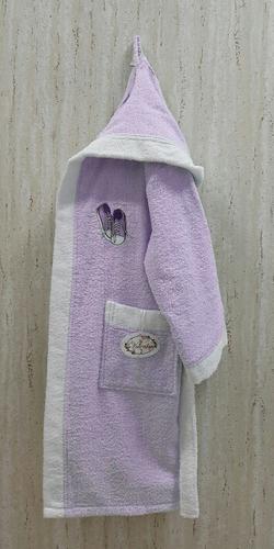 Детский банный халат Volenka Кеды Lilac 14-16 лет