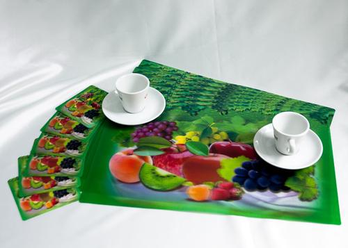 Набор салфеток с подстаканниками Tango Fruits V7