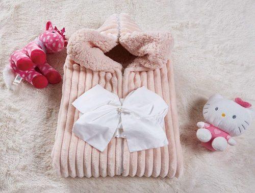 Одеяло-конверт Infanty (пудра)