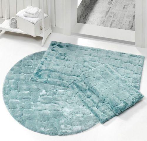 Коврик для ванной ROCKY CARPET Blue