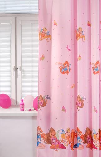 Портьера детская WINX, розовый