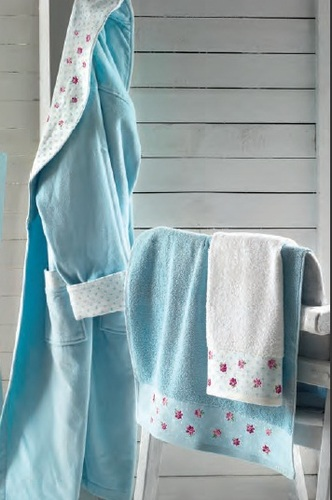 Халат Roseberry Attacco Turquoise L-XL