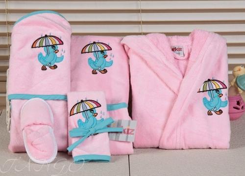 Банный комплект Turkiz Pink