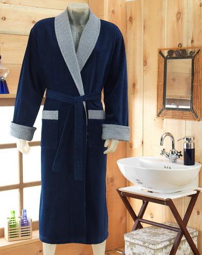 Мужской махровый халат VS Sapphire V2