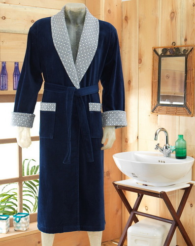 Мужской махровый халат VS Sapphire V1