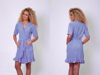 Женский халат Verginia Secret Blue V1