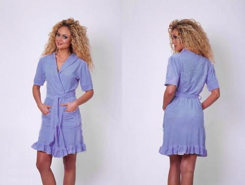 Женский халат Virginia Secret Blue V1