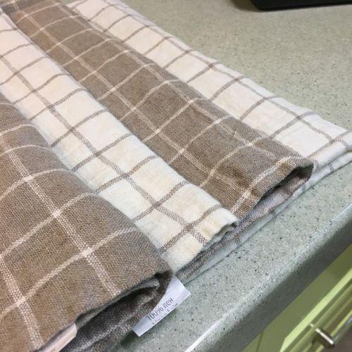 Набор полотенец в классическую клетку Soft