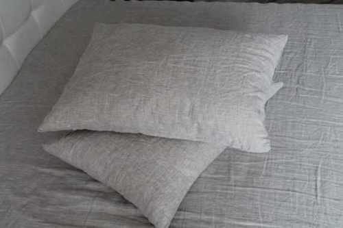 Льняная наволочка Natural Linen 50х70 см