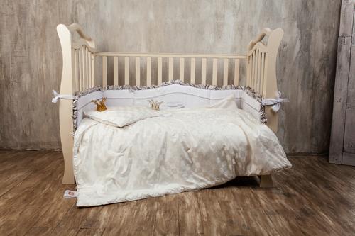 Комплект подушка и одеяло 100х135 см Baby Butterfly Grass