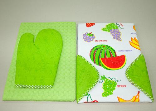 Набор кухонный Tango Fruits V5