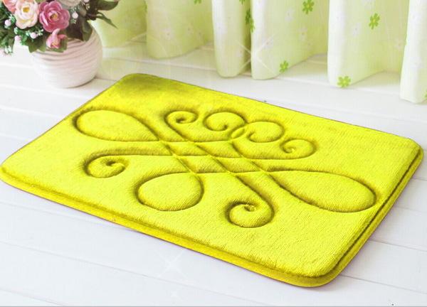 Коврик для ванной Kelvin Yellow V1