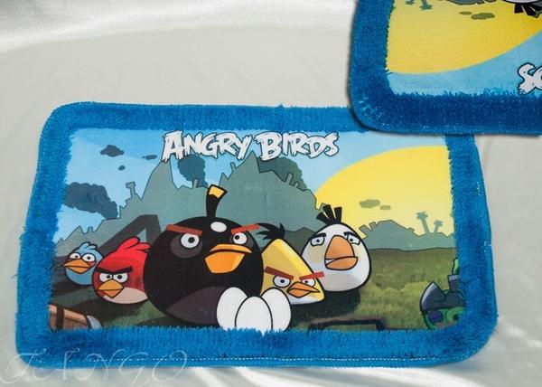 Коврик для ванной Tango Angry Birds V2