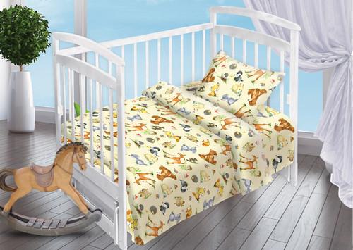 Детское постельное белье Valtery Лесные Обитатели