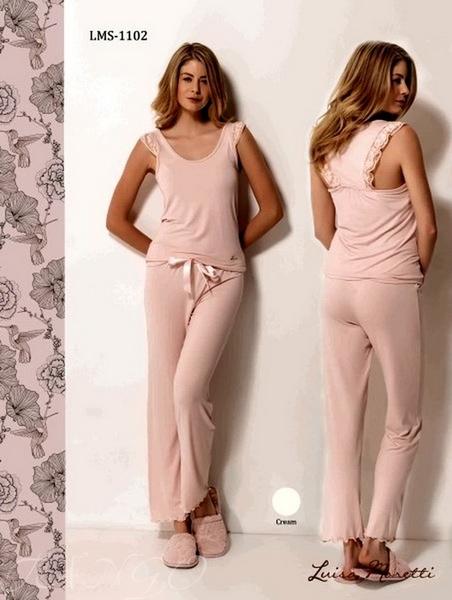 Пижама Luisa Moretti 1102 Pink