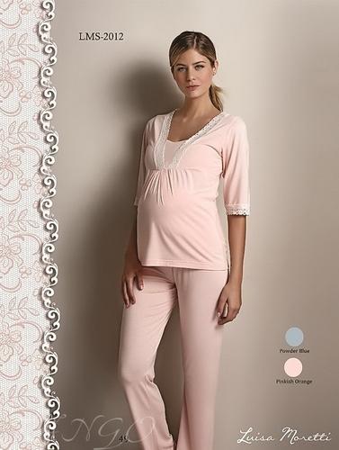 Пижама для беременных Luisa Moretti 2012 Pinkish Orange