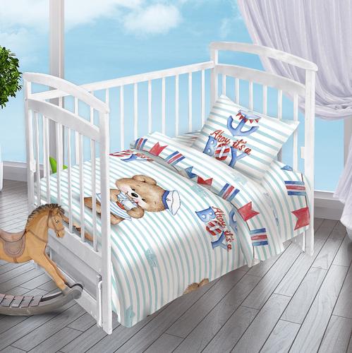 Детское постельное белье Valtery Мишка-Морячок
