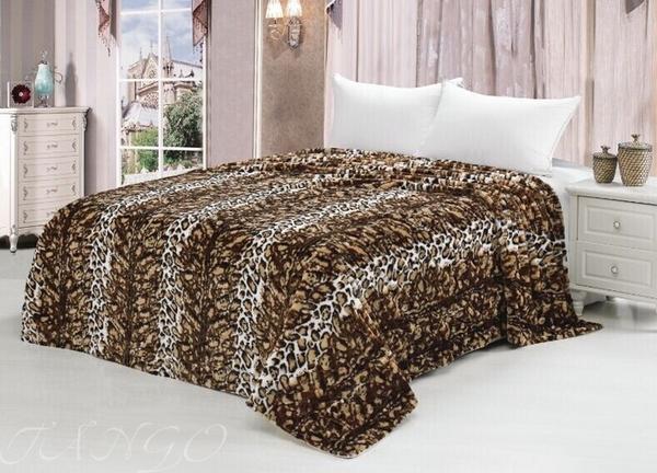 Покрывало Леопард темный MTX007