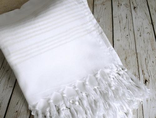 Пляжное полотенце 80х160 Irya Nature Beyaz