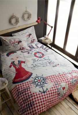 Постельное белье NAVY GIRL 1.5 спальный