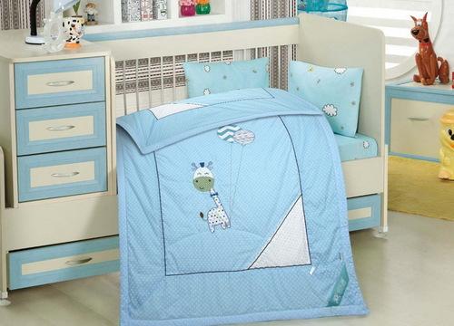 Детское одеяло Happy Dear Blue