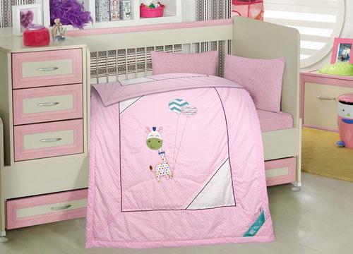 Детское одеяло Happy Dear Pink
