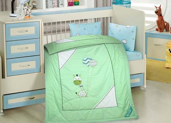 Детское одеяло Happy Dear Green