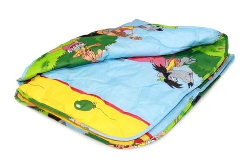 Одеяло детское овечья шерсть облегченное Valtery