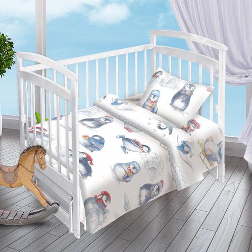 Детское постельное белье Valtery Пингвинята