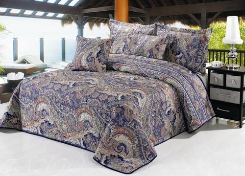 Покрывало с наволочками Madeira фиолетовый TG2416-18