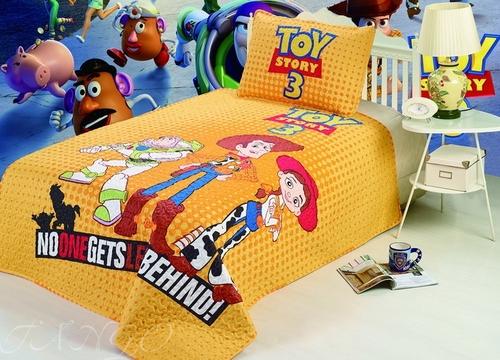Детское покрывало с наволочкой Toy Story 3