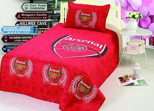 Детское покрывало с наволочкой Arsenal