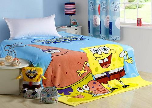 Детский плед SpongeBob