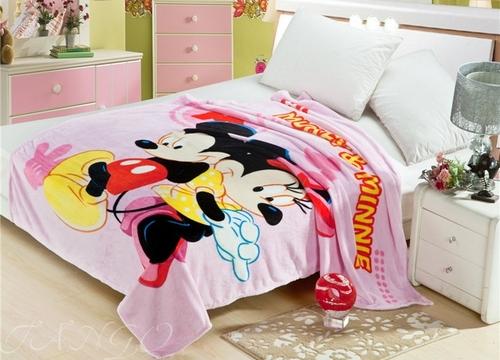 Детский плед Mickey&Minnie