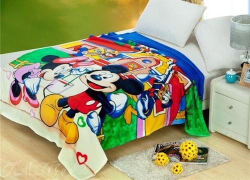 Детский плед Mickey Mouse
