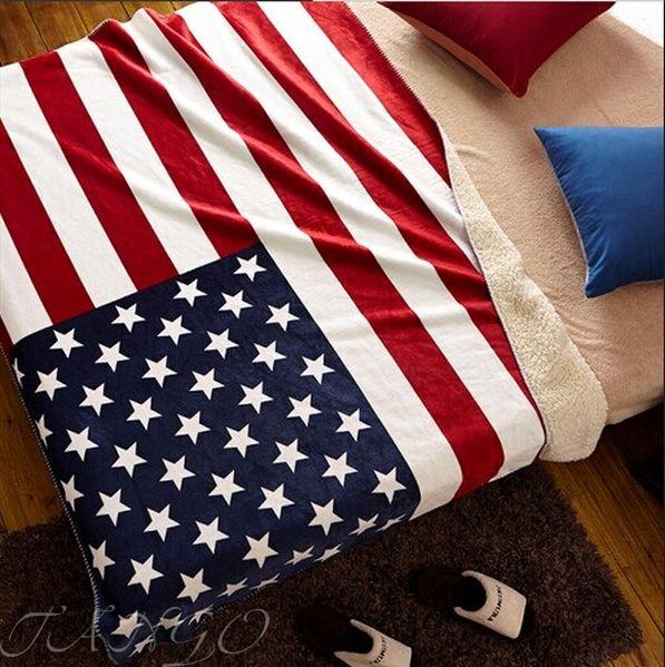 Плед Tango Flag USA