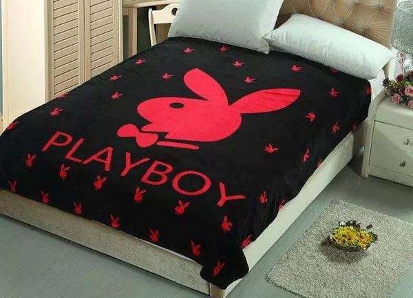 Детский плед Playboy