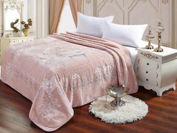 Плед Tango Scheherazade розовый