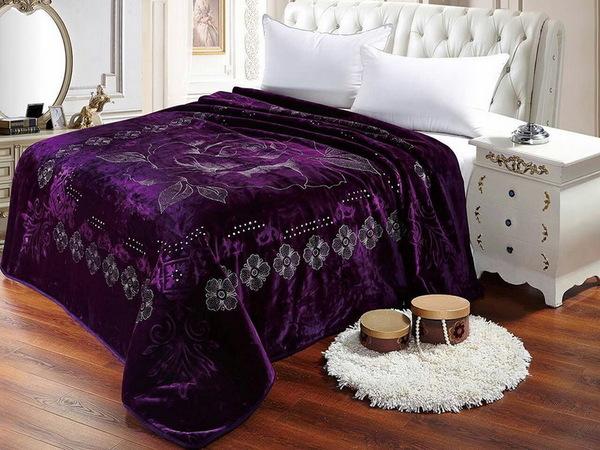 Плед Tango Scheherazade фиолетовый