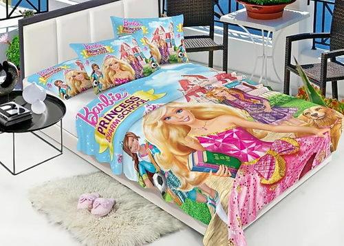 Детский плед Barbie 3