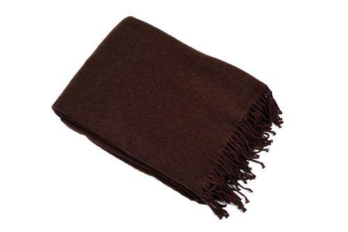Плед 140х200 Valtery коричневый