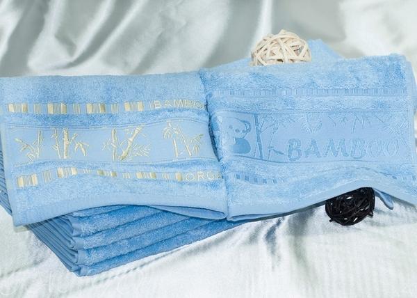 Полотенце махровое Tango Panda Blue