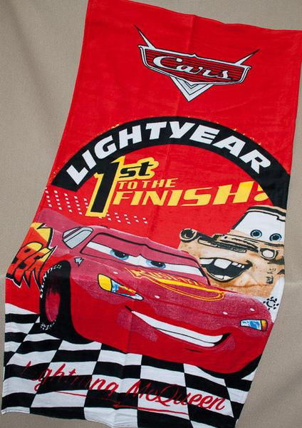 Пляжное полотенце Cars